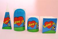 Love is...Пирамида 60*60*160