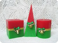 Рождество Пирамида 60*60*160