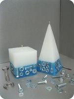 Винтики-Болтики Пирамида 80*80*160