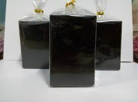 Свеча Черная Блок 45*70мм
