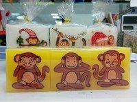 """Набор свечей """"Три обезьянки"""""""