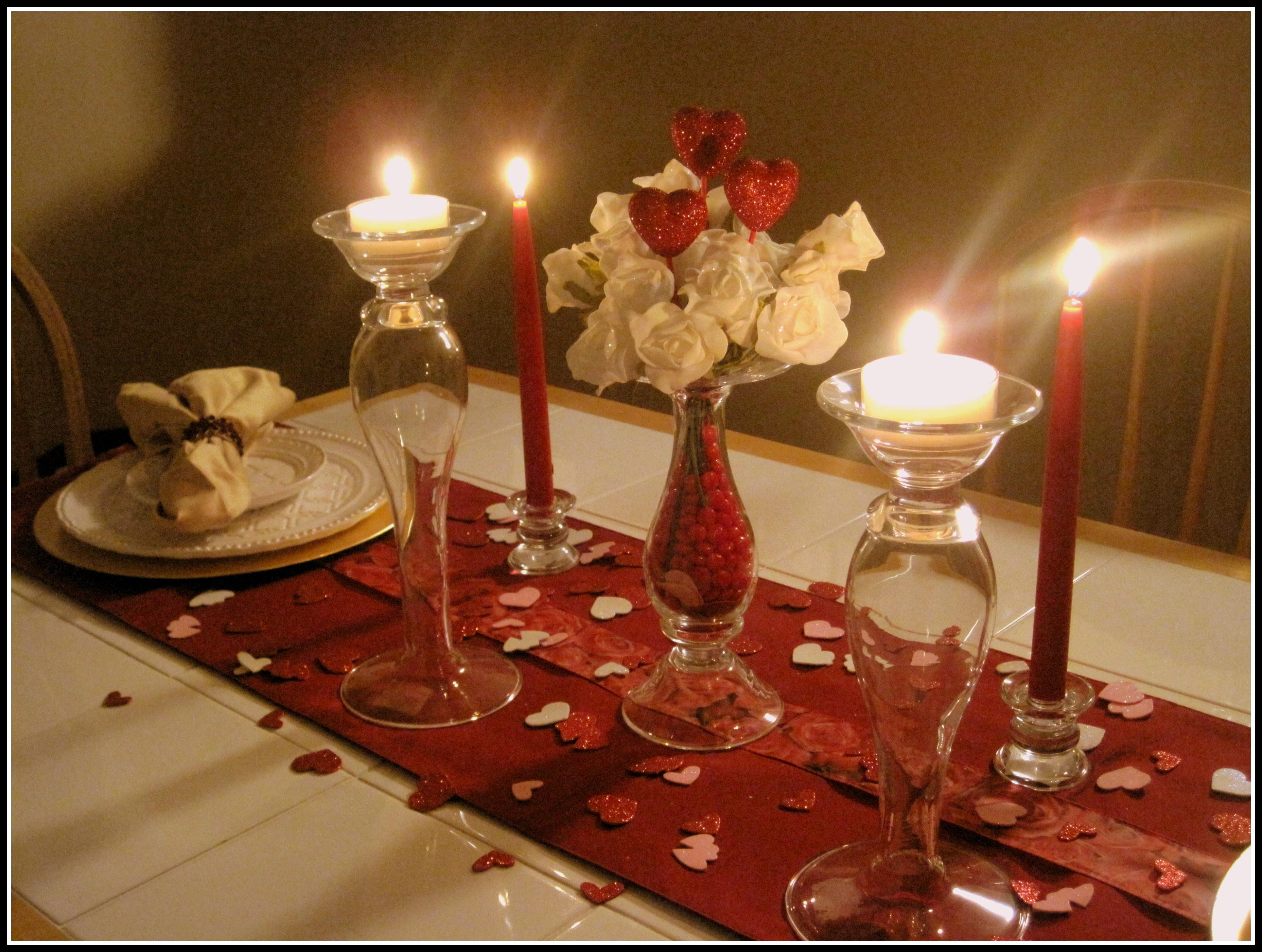 Как сделать уютный романтический ужин своими руками 32